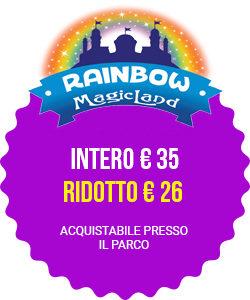 rainbow magicland prezzi intero