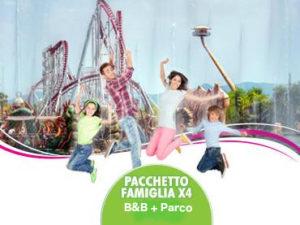 Rainbow Magicland Pacchetto Famiglia 4 persone