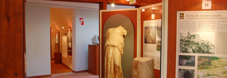 Sala museo archeologico di Segni
